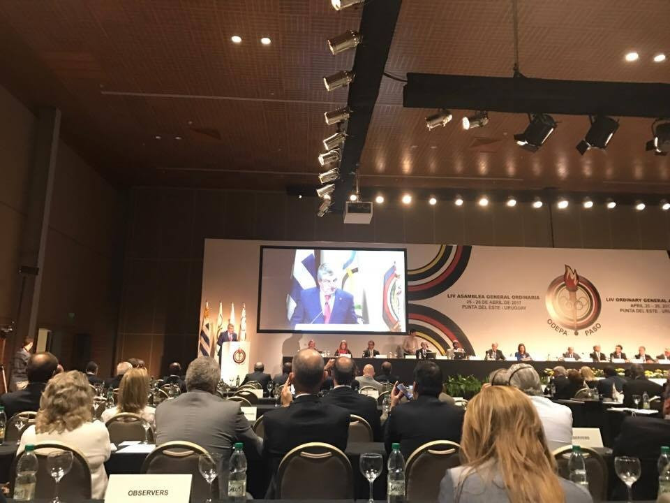 Thomas Bach gave a strong defence of the appeal of the Olympic Games ©ITG