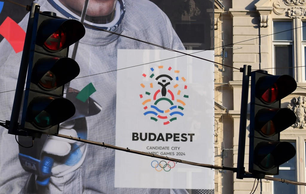 Budapest were one of three cities to withdraw from the campaign for the 2024 Olympic Games ©Getty Images