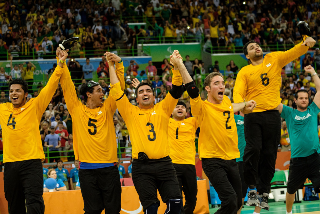 Brazil will host the goalball tournament in São Paulo ©Getty Images