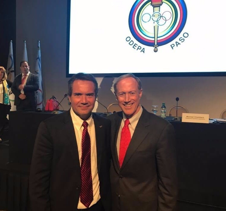 Ilic elected President of PASO in front of Puello and Nuzman