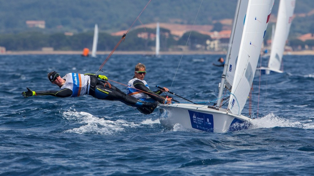 Dutch pair dominate second day at Sailing World Cup in Hyères