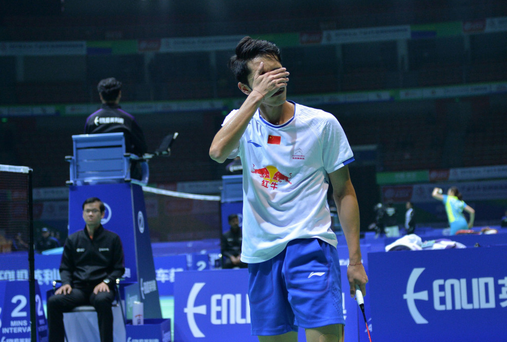 China's Tian suffers first-round exit at Badminton Asia Championships