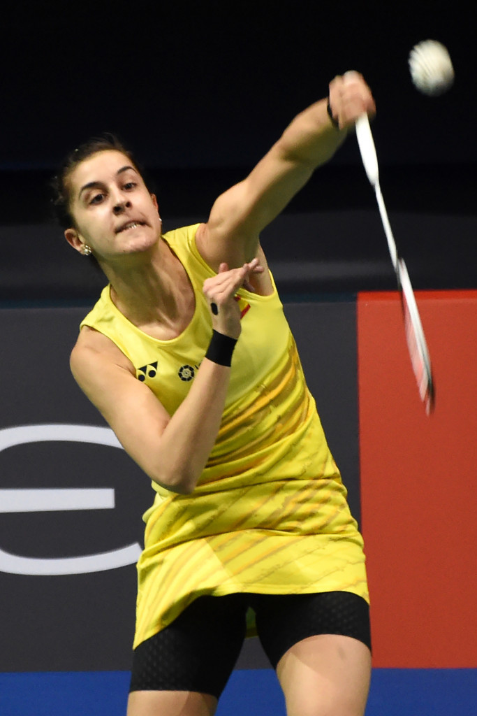 China's Tian suffers first-round exit at Badminton Asia ...