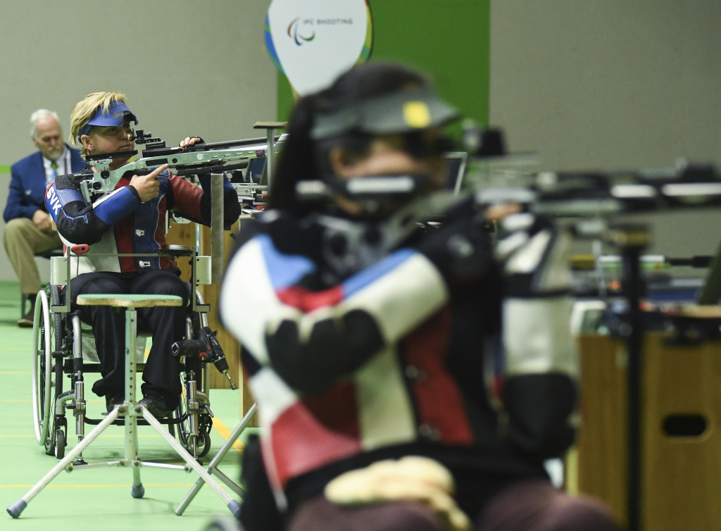 Vadovičová among winners on opening day of World Shooting Para Sport Grand Prix