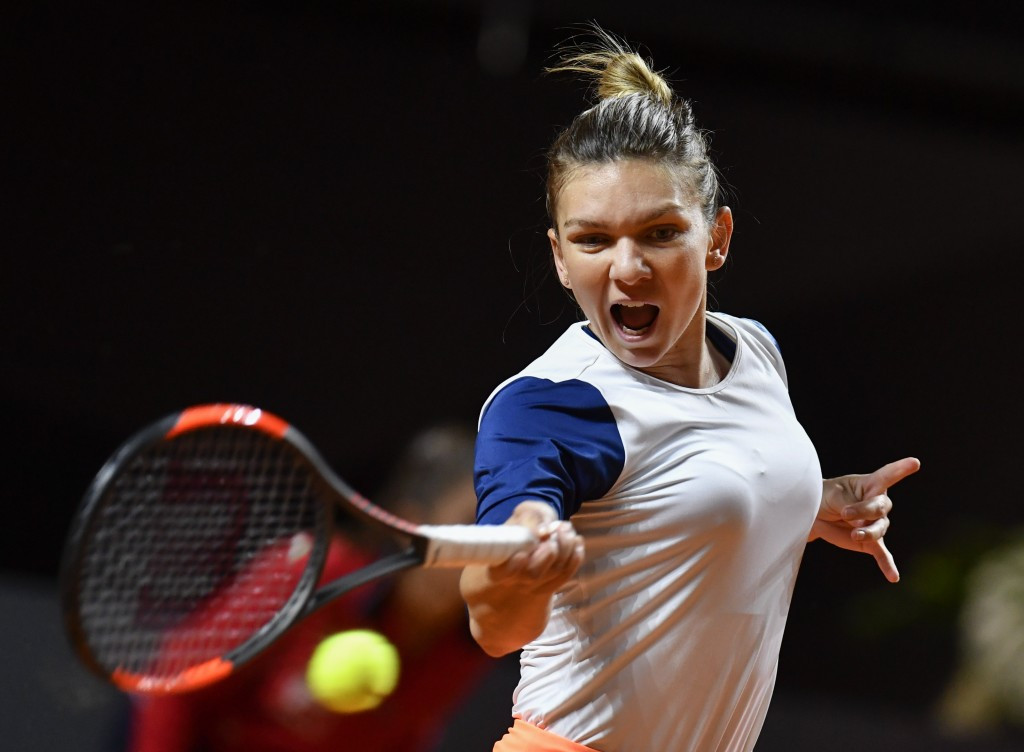 Simona Halep was the first player to earn a quarter-final place ©Getty Images