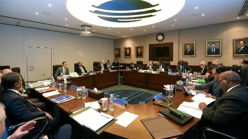 Board members at the ICC approved the new financial model and constitution at the governing body ©ICC
