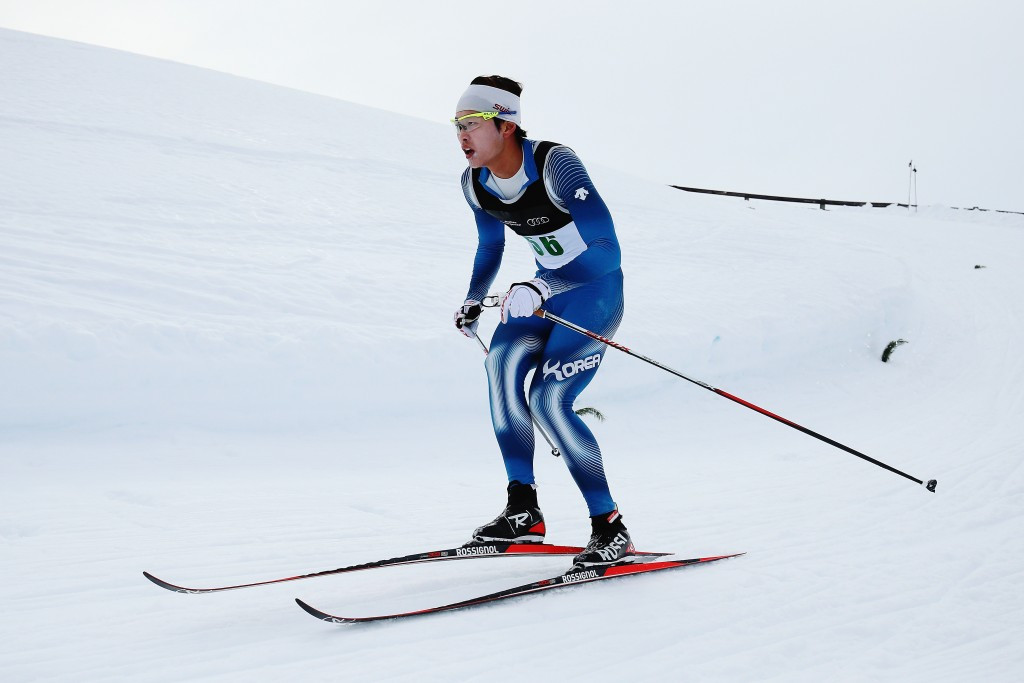 Hwang Jun-ho was also a member of the South Korea cross-country skiing team ©Getty Images