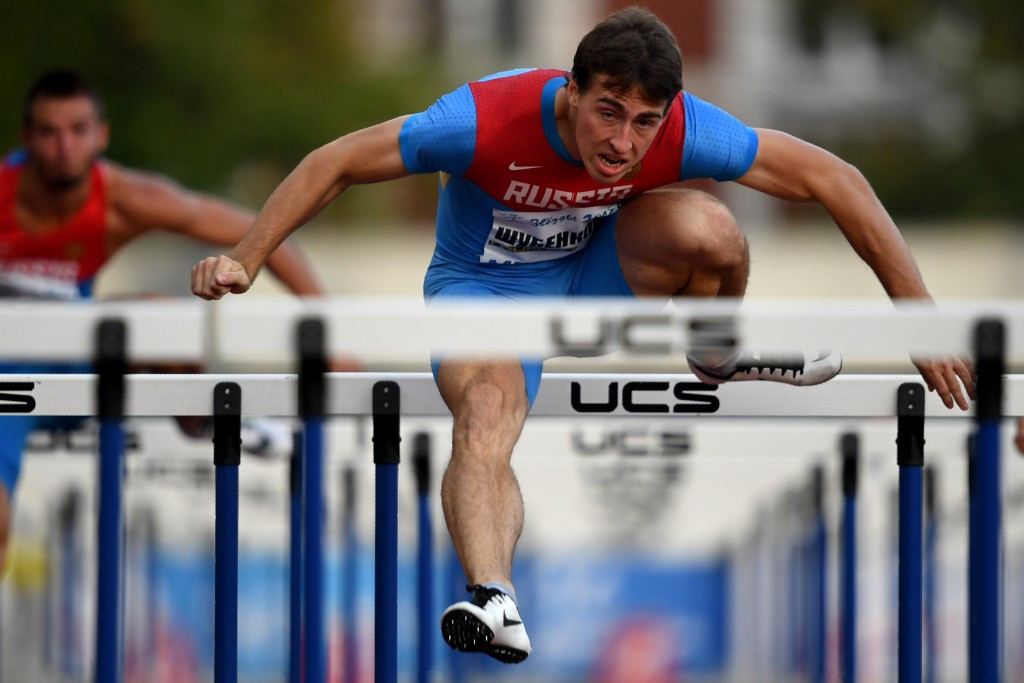 Reigning men's 110m hurdles world champion Sergey Shubenkov was one of seven athletes to be cleared to compete neutrally last month ©Getty Images