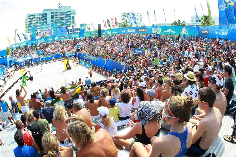 Hamburg is to stage the Beach Volleyball FIVB World Tour Finals in August ©FIVB