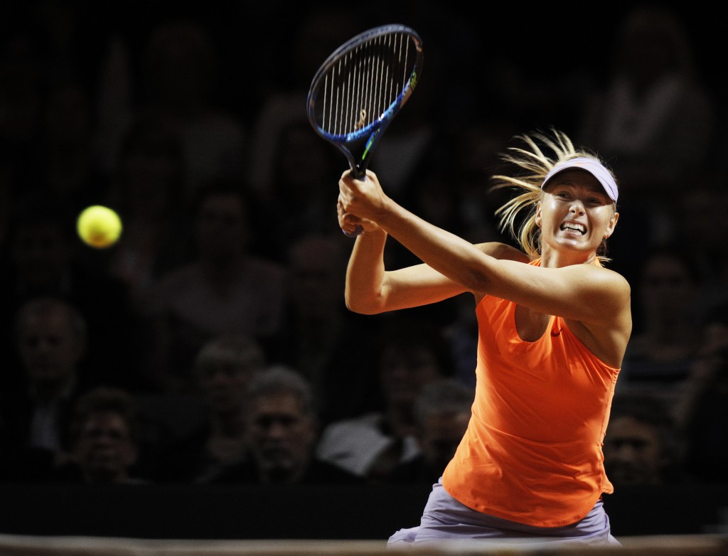 Maria Sharapova earned her second win at the Porsche Grand Prix ©Getty Images