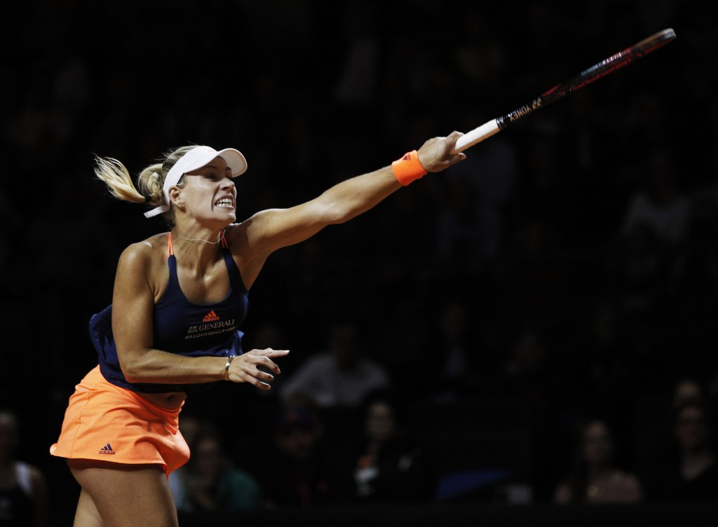 Angelique Kerber suffered a surprise defeat in Stuttgart ©Getty Images