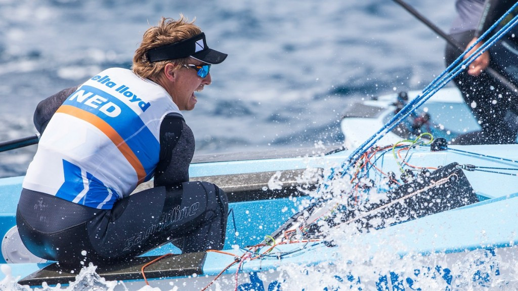 Rio 2016 bronze medallists see lead cut at Sailing World Cup