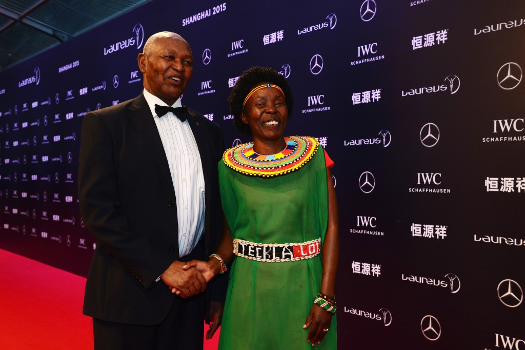 Kip Keino's 18-year reign as chairman of NOCK has ended but former world marathon holder Tegla Loroupe hopes to be elected to the organisation's Executive Board ©Getty Images