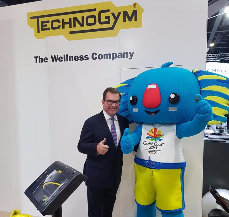 Technogym named official fitness equipment supplier of Gold Coast 2018