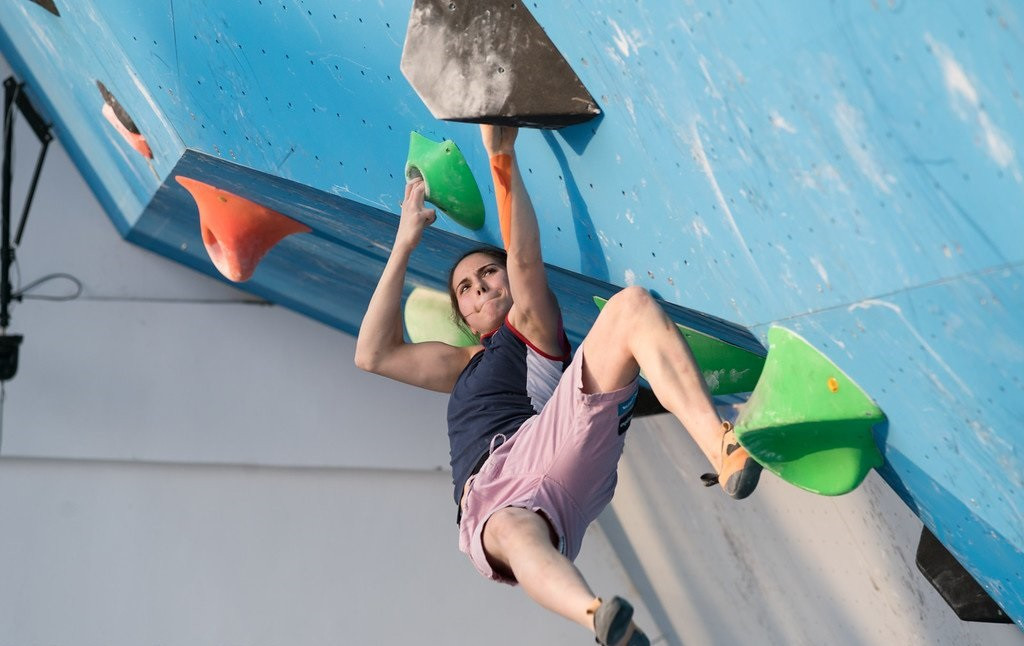 Bouldering and speed events will be contested over two days ©IFSC