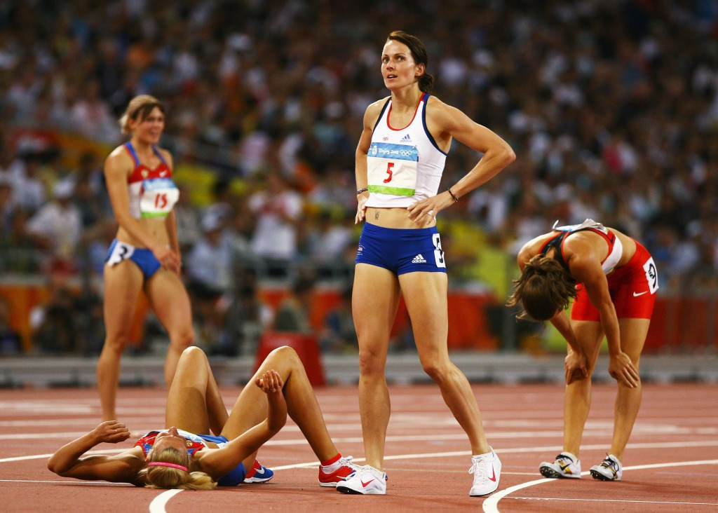 Message to Kelly Sotherton, world and Olympic heptathlon medallist – keep up your supplies of chocolate please ©Getty Images