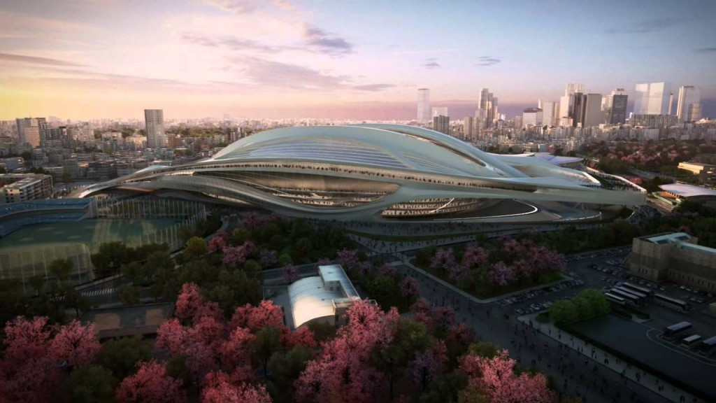 The Japanese Government are under pressure over why the new stadium being built for the 2020 Olympics will cost more than $2 billion ©Zaha Hadid Architects