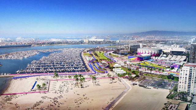 Long Beach Sports Park images completes Los Angeles 2024 virtual venue tour