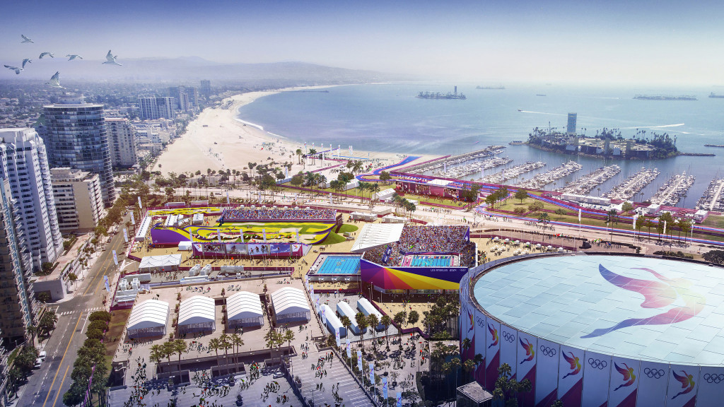 The Long Beach Sports Park is one of four venue clusters being proposed by Los Angeles 2024 ©Getty Images