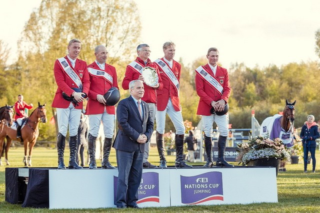Germany triumph in exciting FEI Nations Cup Jumping finish