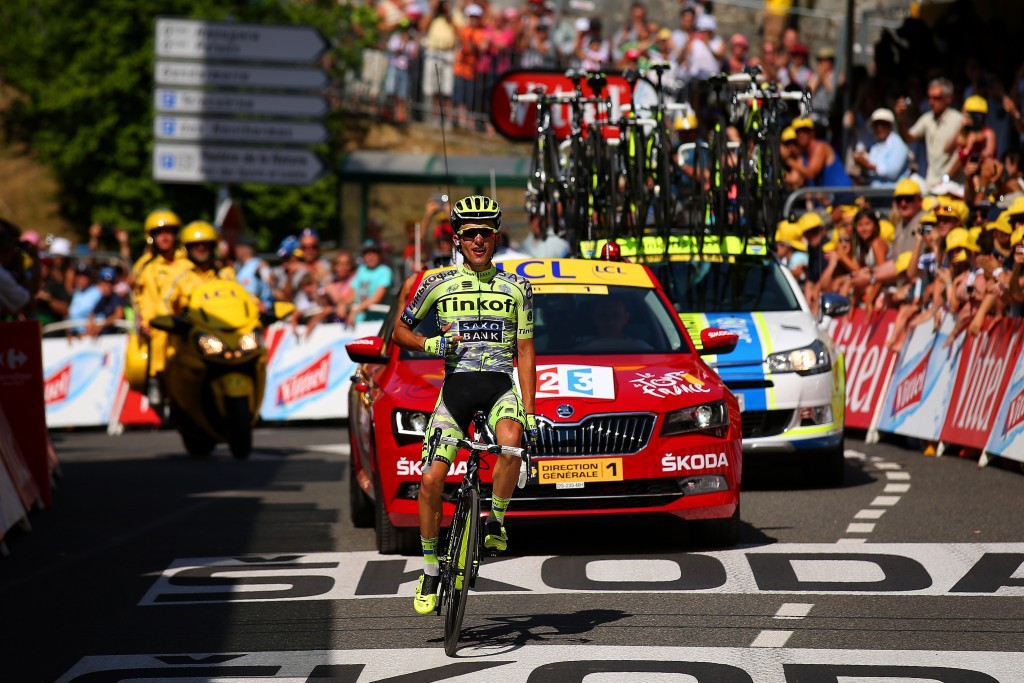 Majka climbs clear of breakaway companions to win Tour de France stage 11