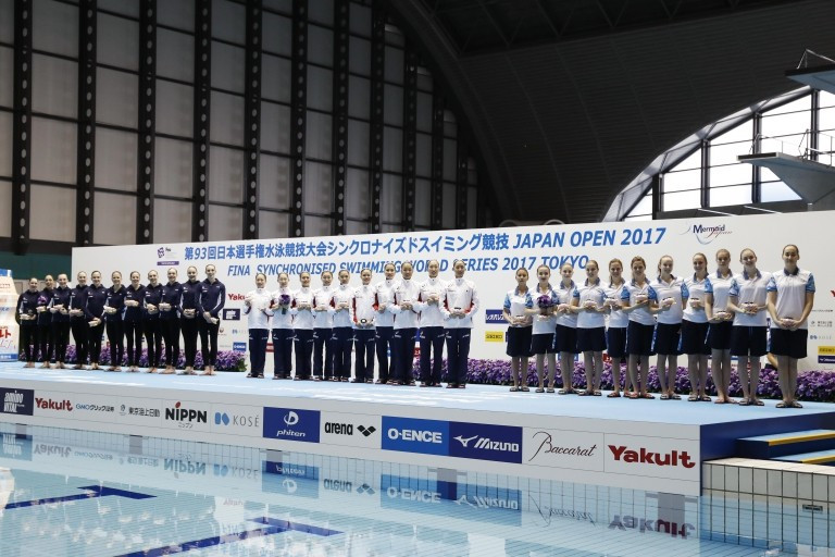 Japan win free combination title at FINA Synchronised Swimming World Series in Tokyo