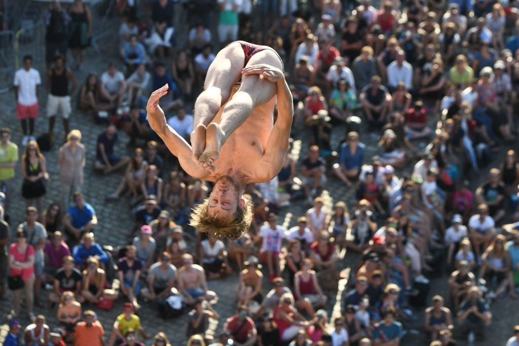 Hunt and Jimenez claim gold at FINA High Diving World Cup in Abu Dhabi