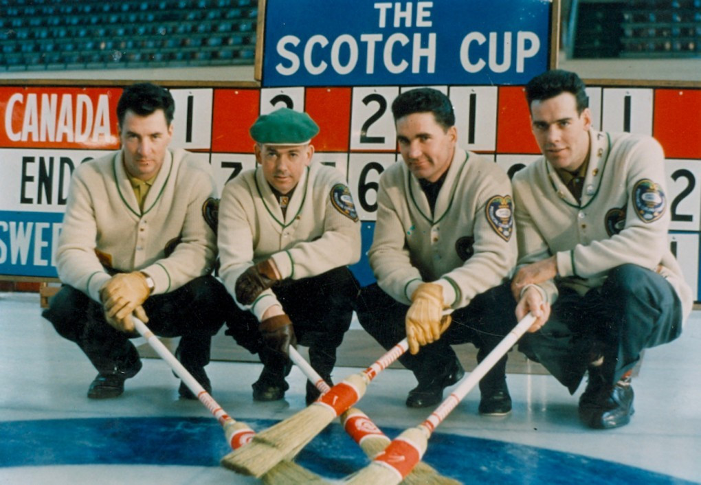 The team won the Scotch Cup, which became the World Championships in 1989, in 1959, 1960 and 1962 ©WCF