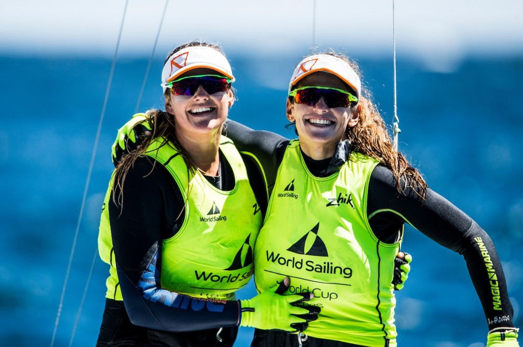 Olympic champions continue success with Sailing World Cup triumph in Hyères