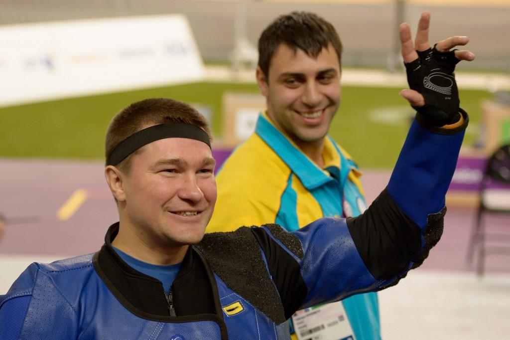 Vasyl Kovalchuk won gold at both the London 2012 and Rio 2016 Paralympics ©Getty Images