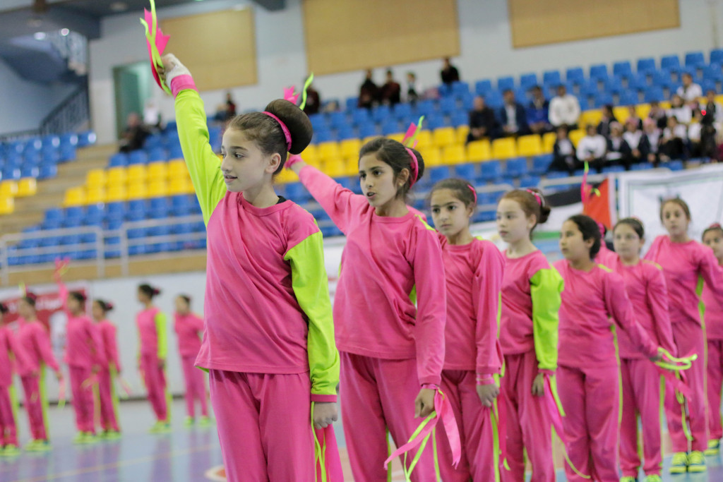 Olympic Week organised for pupils in Palestine