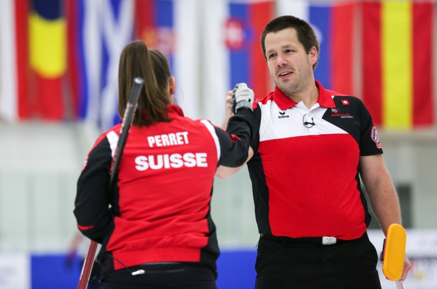 Swiss duo claim World Mixed Doubles Curling Championship crown