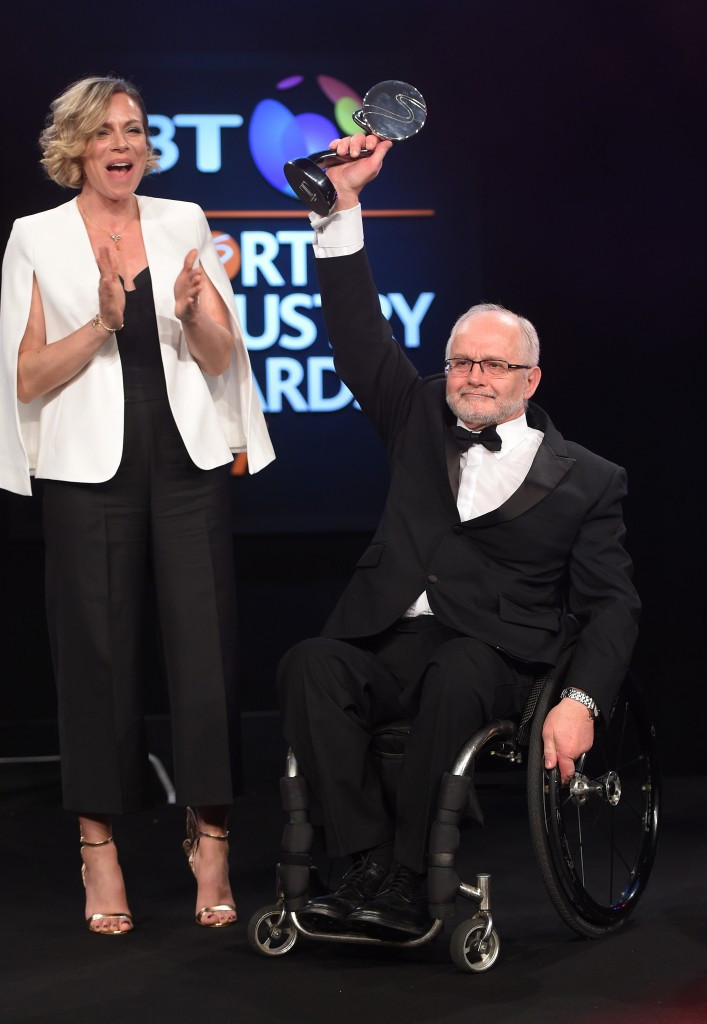 IPC President Craven admits 2016 was his hardest year after receiving award