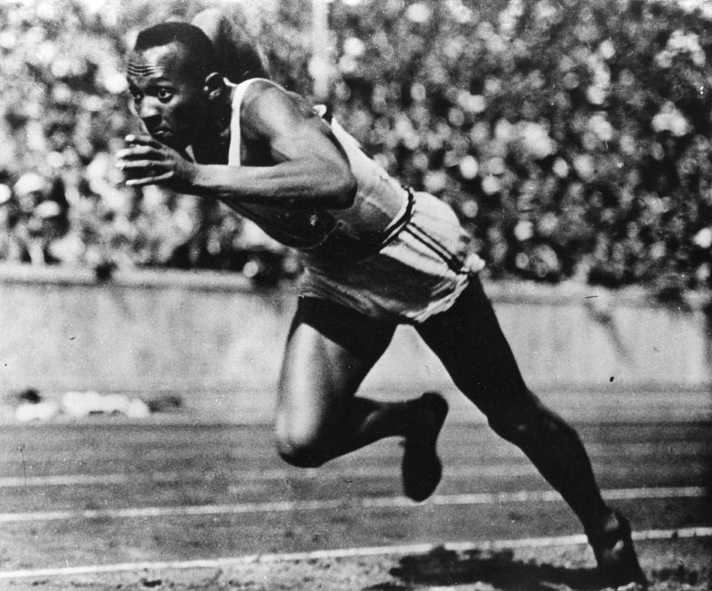 On May 25, 1935, Jesse Owens - who would win four Olympic golds a year later - set five world records and equalled a sixth in the space of three quarters of an hour ©Getty Images