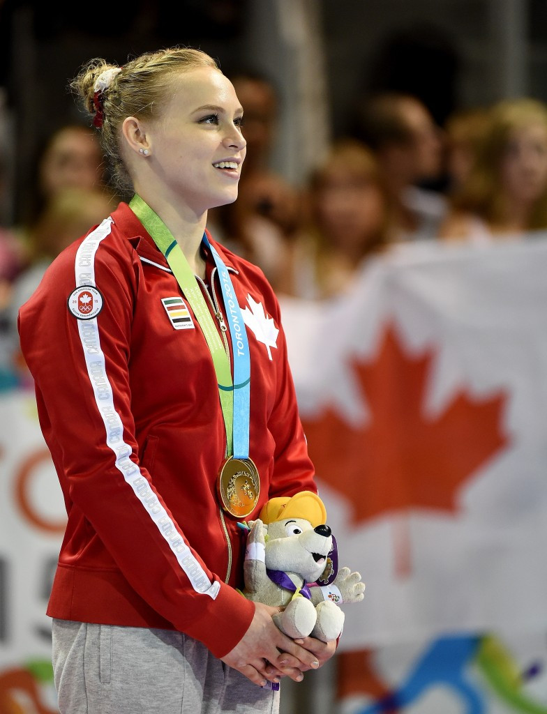 Black and Calvo Moreno scoop double Toronto 2015 gold on final day of artistic gymnastics