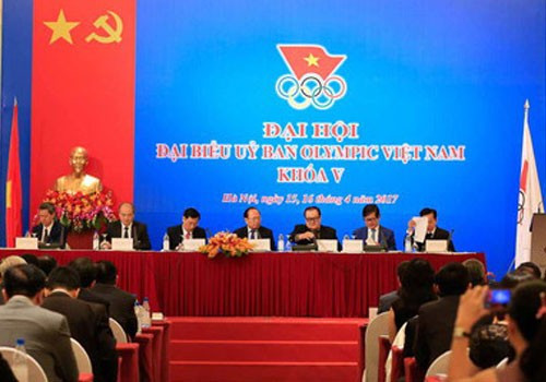 Sports Minister elected President of Vietnam Olympic Committee
