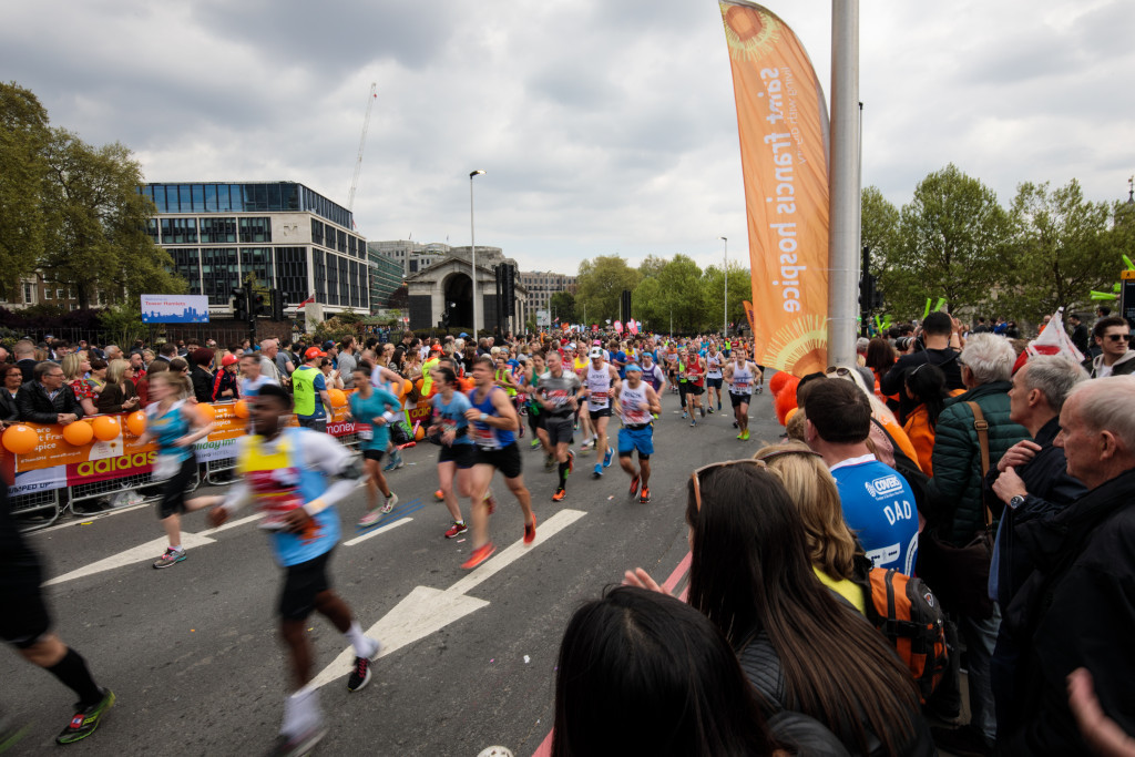 The announcement of the event follows last week's London Marathon ©Getty Images