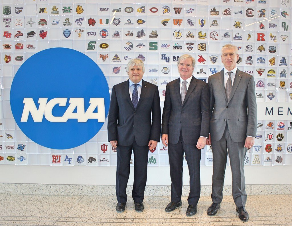 "FISU and NCAA pledge ""closer collaboration"" following meeting"