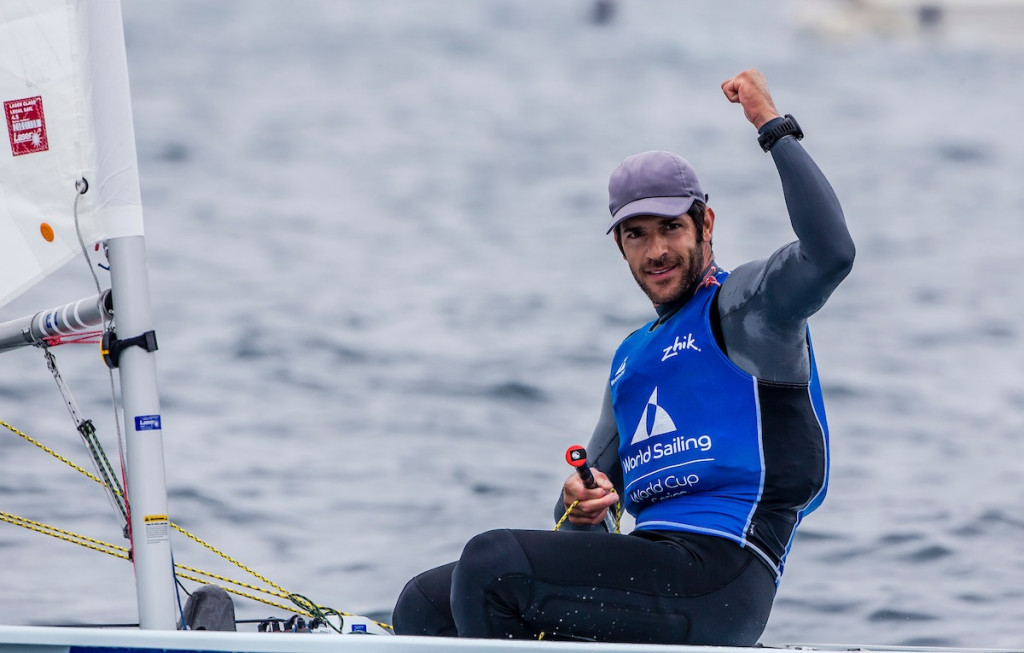 Kontides clinches narrow victory at Sailing World Cup in Hyères