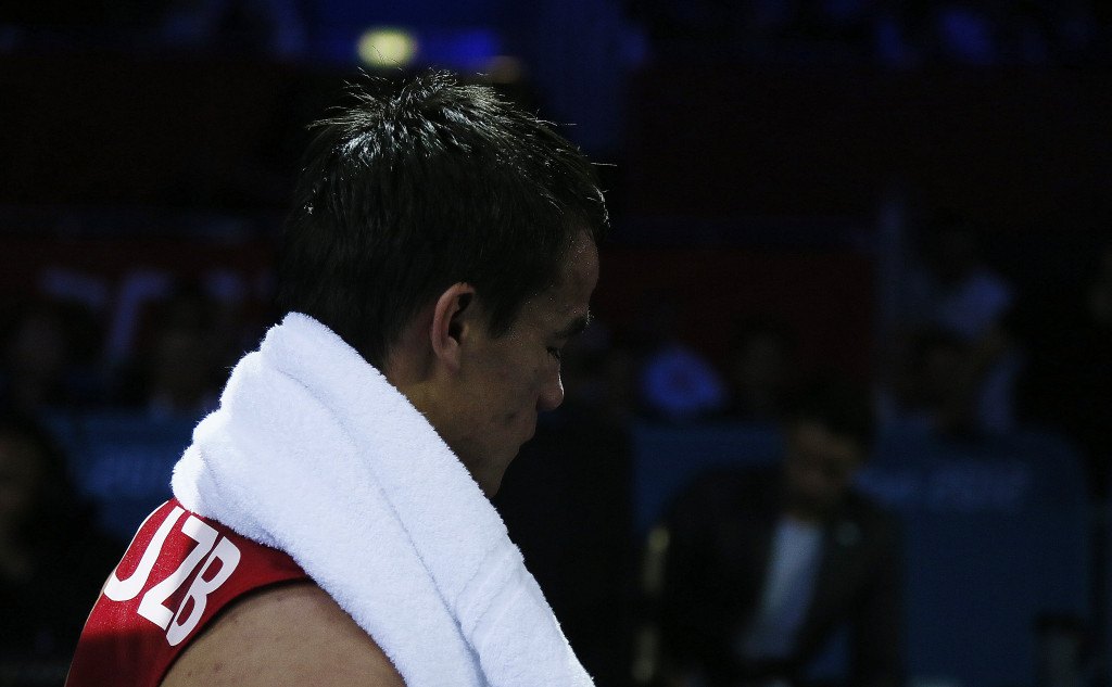 Latipov claims comfortable win at Asian Boxing Championships on home soil