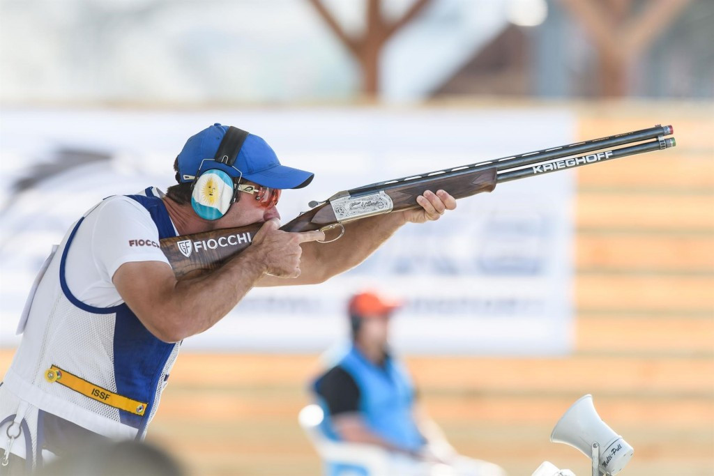 Argentina's Federico Gil secured his first ISSF World Cup medal with gold in Larnaca ©ISSF