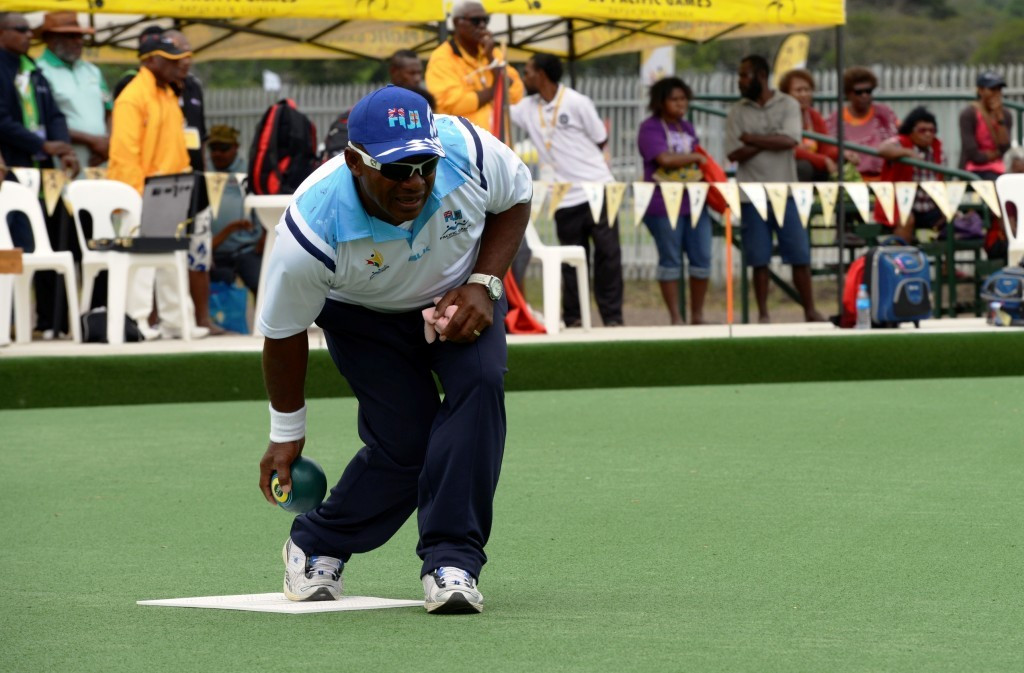 Fiji at the double in Pacific Games lawn bowls competition