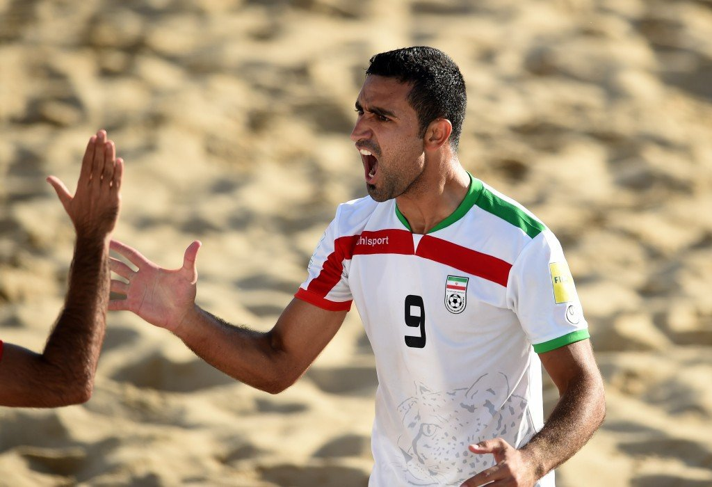 Iran reached the quarter-finals of the FIFA Beach Soccer World Cup in The Bahamas today ©Getty Images