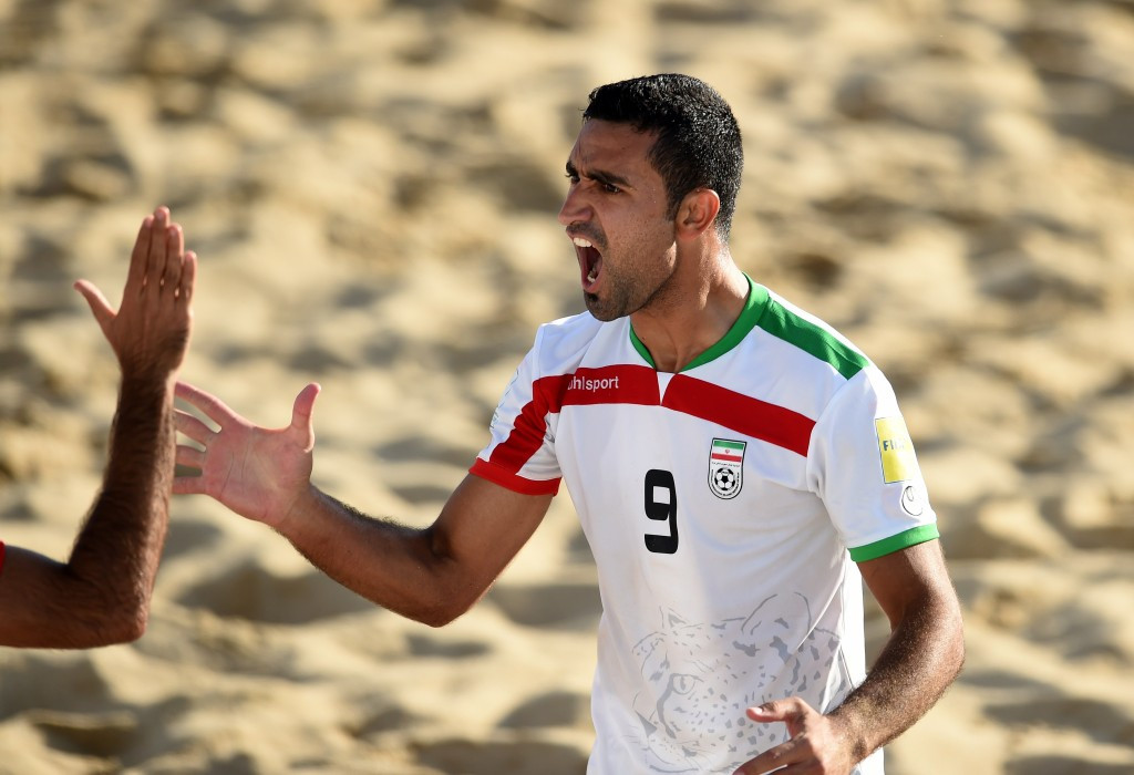 Iran reach FIFA Beach Soccer World Cup quater-finals after penalty shootout win