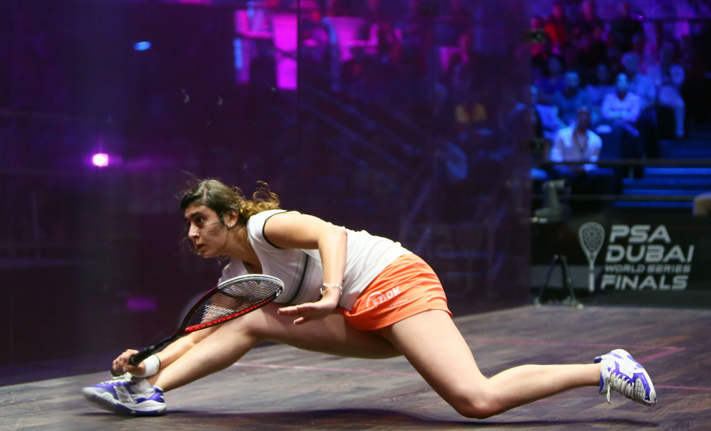 Nour El Sherbini has retained her place at the top of the women's world rankings ©Getty Images
