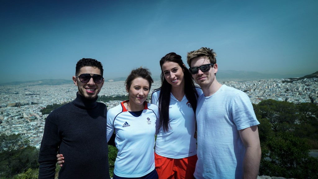 Four taekwondo athletes appear in film shot at WTF President's Cup in Athens