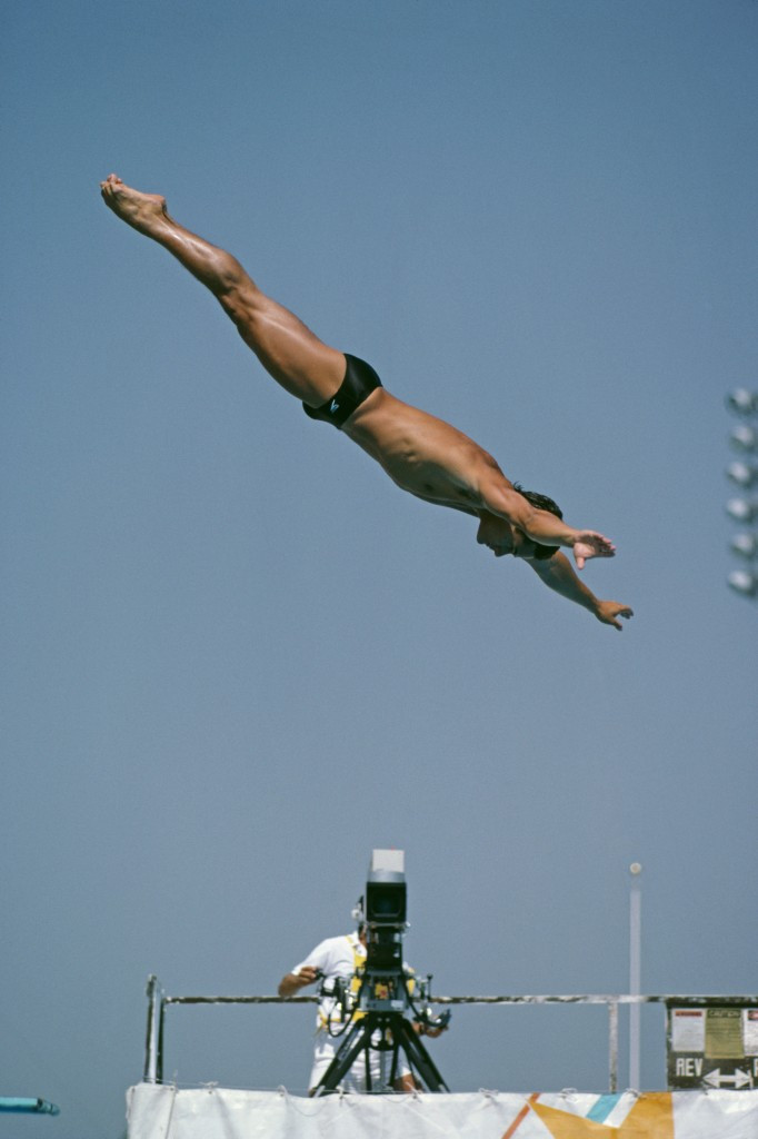 Greg Louganis won four Olympic gold medals during his career ©Getty Images
