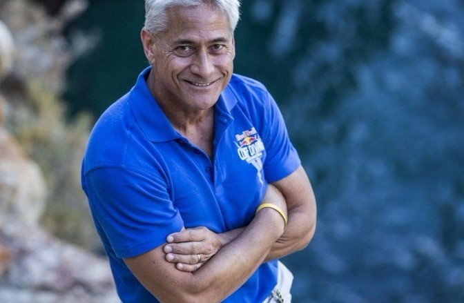 Greg Louganis has been appointed as sports director of Red Bull Cliff Diving World Series ©Red Bull Cliff Diving World Series