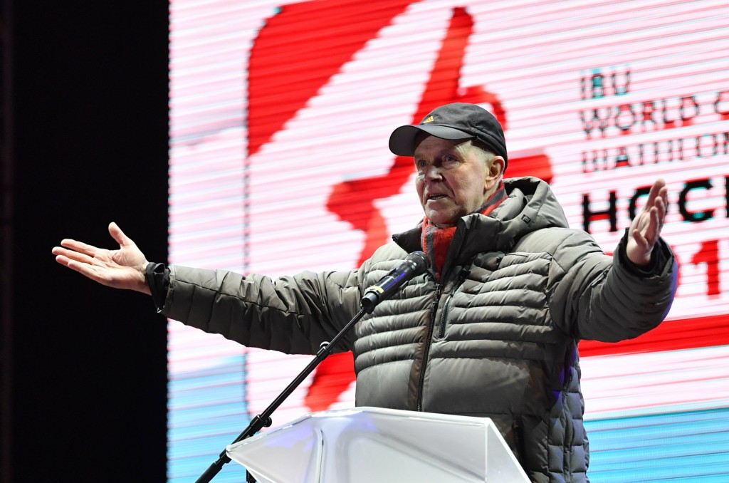 Four countries in the frame to host major biathlon events says IBU President