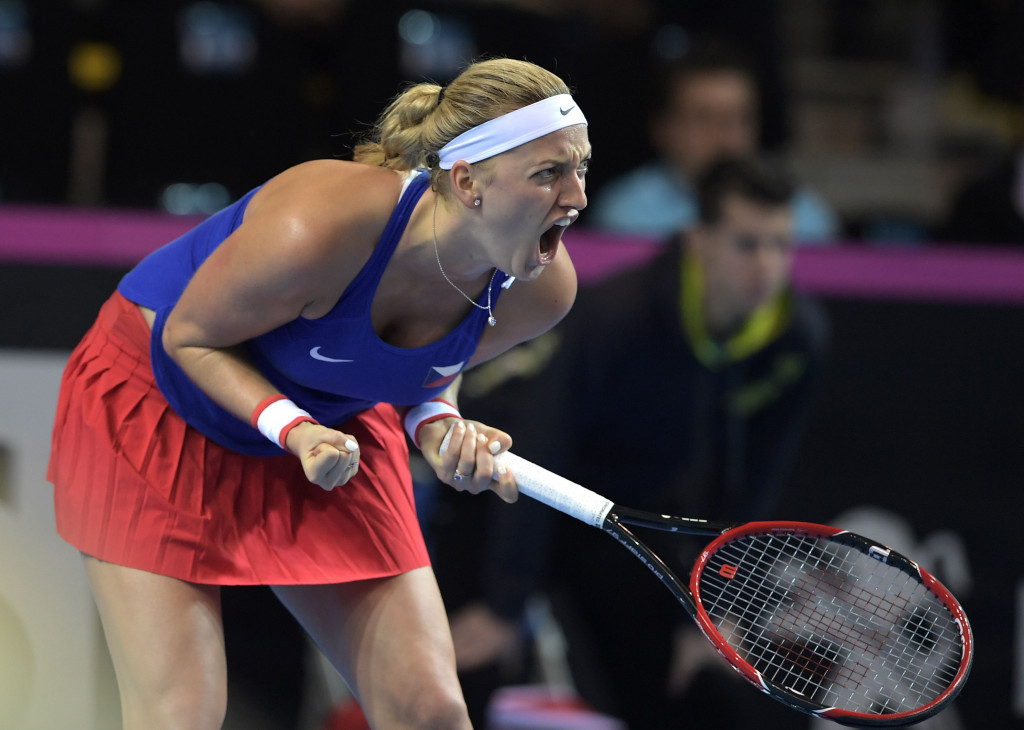 Petra Kvitova is targeting a competitive return at the French Open later this month ©Getty Images